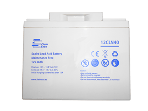 باتری یو پی اس 12 ولت 40 آمپر ساعت سیلو استه